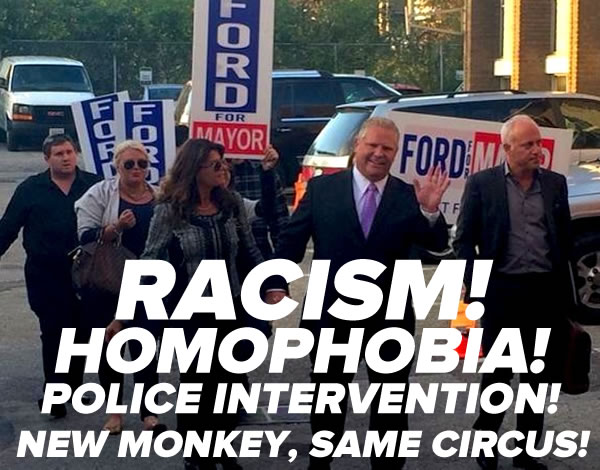 doug ford - new monkey same circus