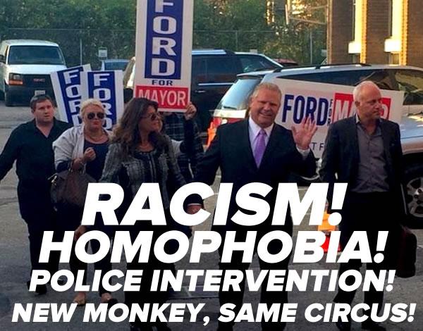 doug ford - new monkey same circus