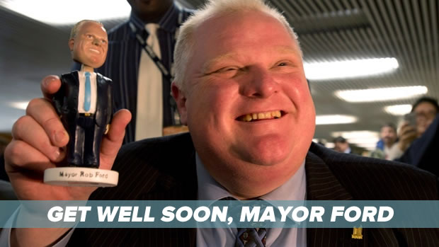 get well soon mayor ford