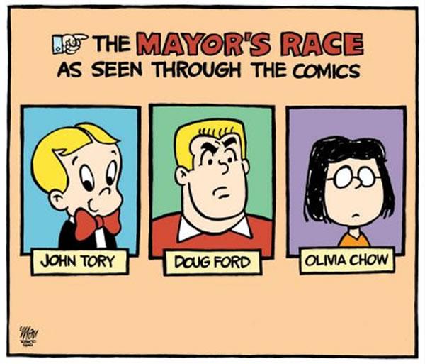 toronto mayors race as seen through comics