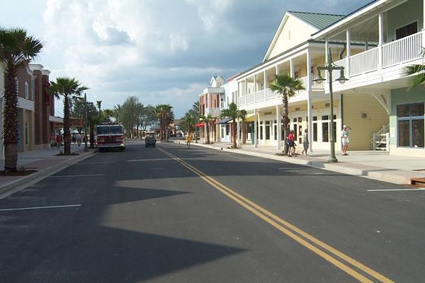 villages street