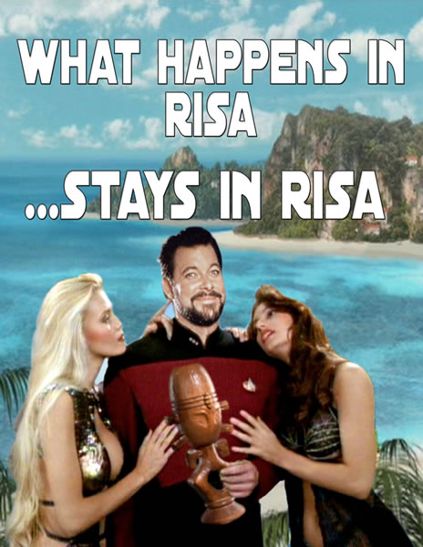 what happens in risa