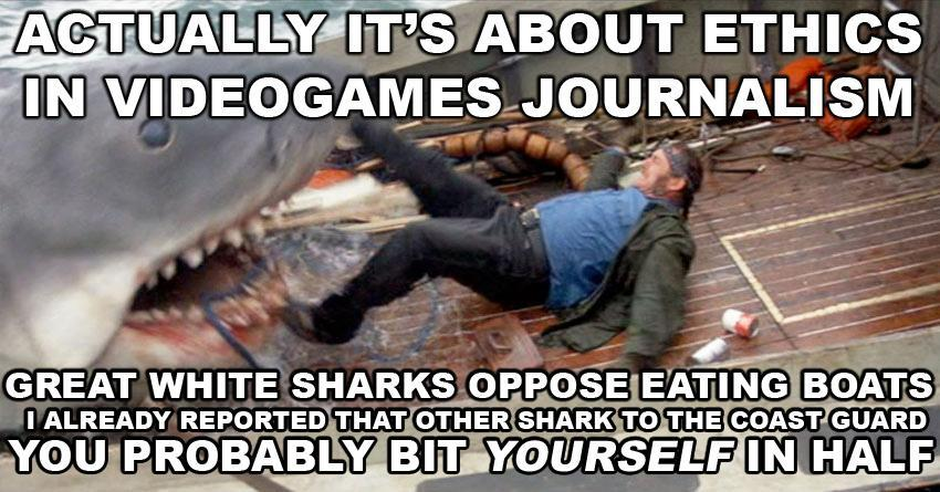 actually its about ethics - jaws