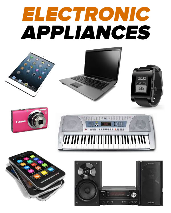 electronic appliances