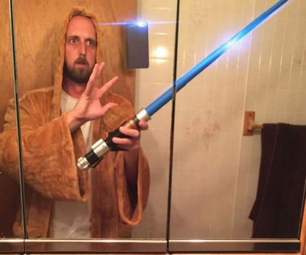 how jedi knights take selfies