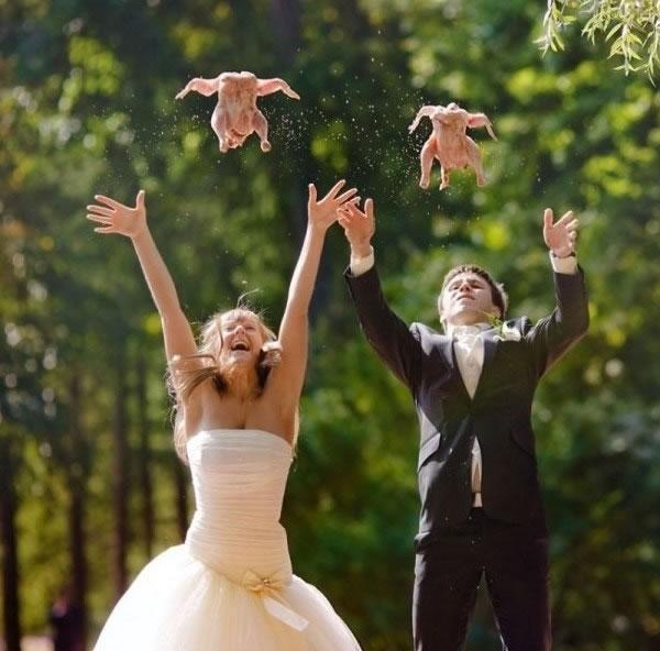 wedding chicken fling 2