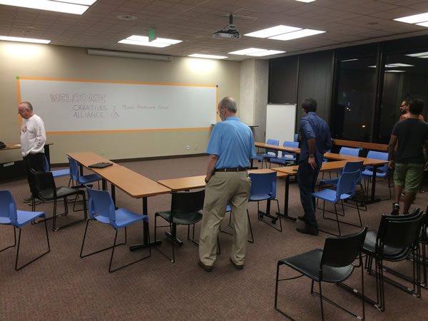 16 meeting space