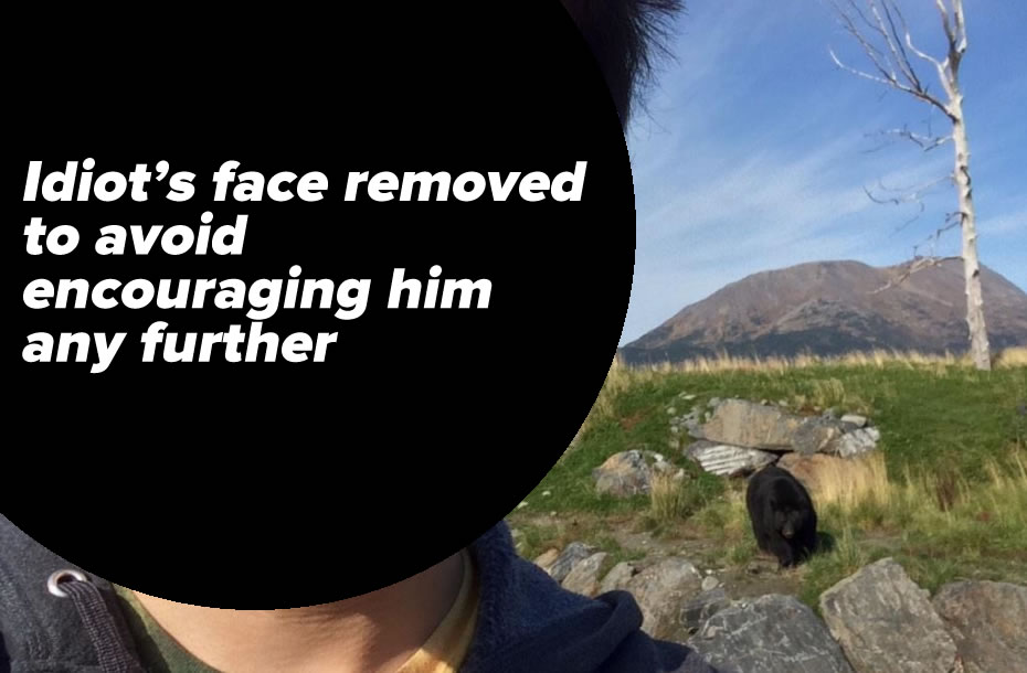 bear selfie 1
