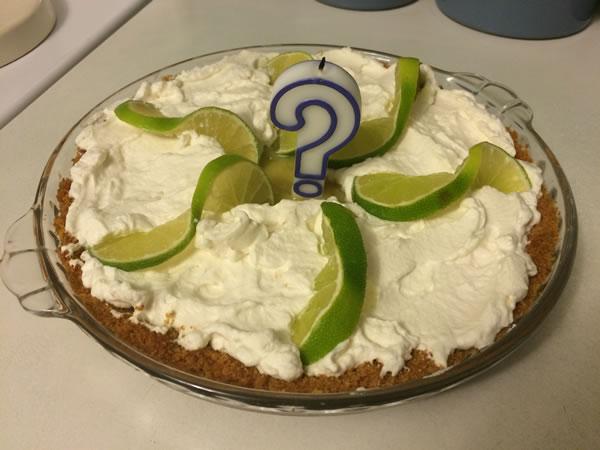 birthday key lime pie
