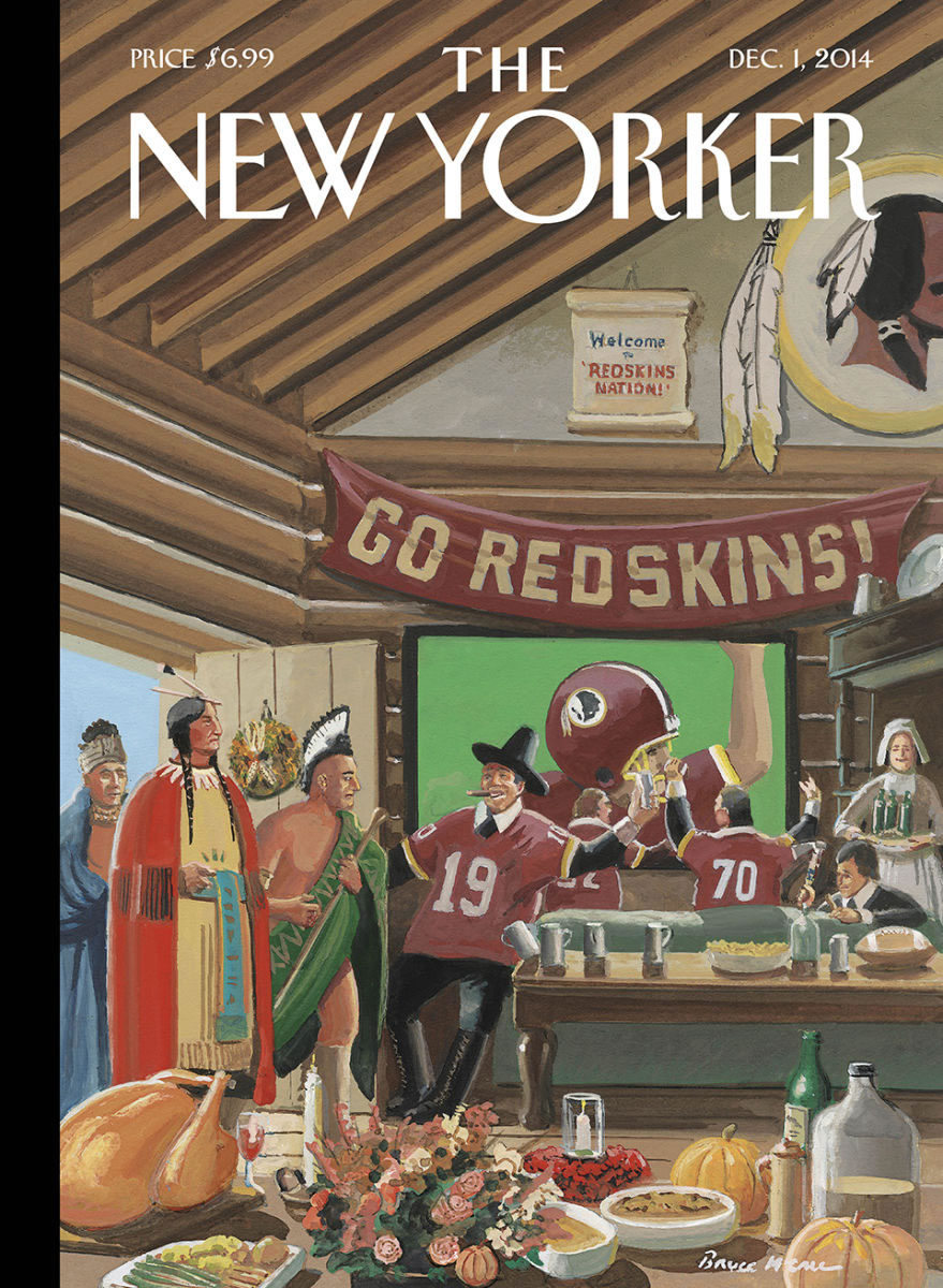 new yorker thanksgiving 2014 cover