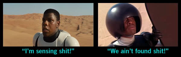 star wars - spaceball homage