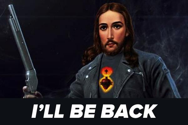 jesus - ill be back