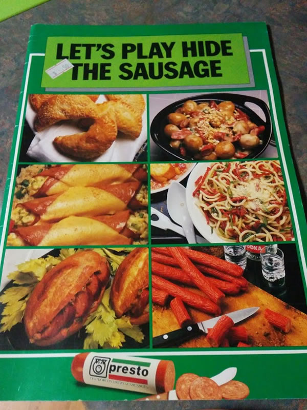 lets play hide the sausage