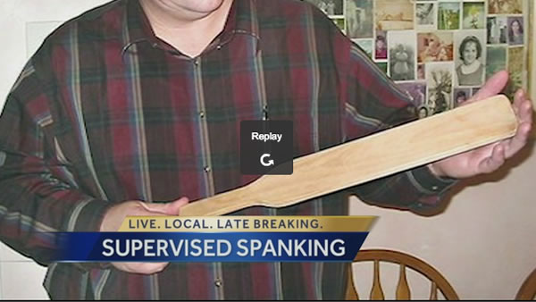 supervised spanking