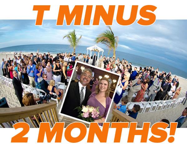 t minus 2 months