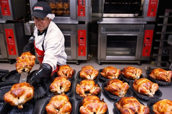 costco chicken prep