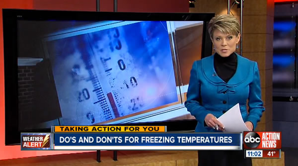 dos and donts for freezing temperatures