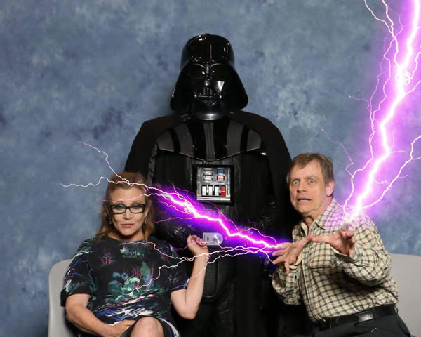 force lightning family photo