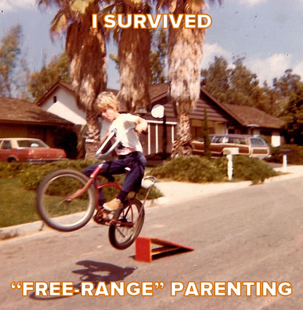 i survived free range parenting