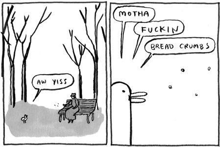 kate beaton - motha fuckin bread crumbs