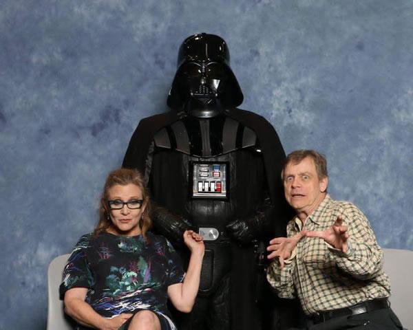 star wars awkward family photo