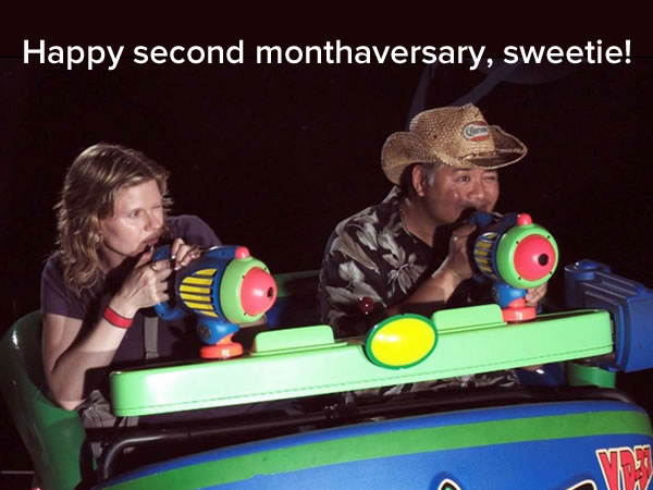 anitra and joey at buzz lightyear