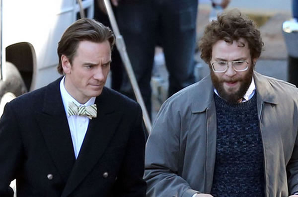fassbender as jobs and rogen as woz
