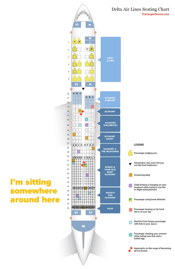 economy class seating chart