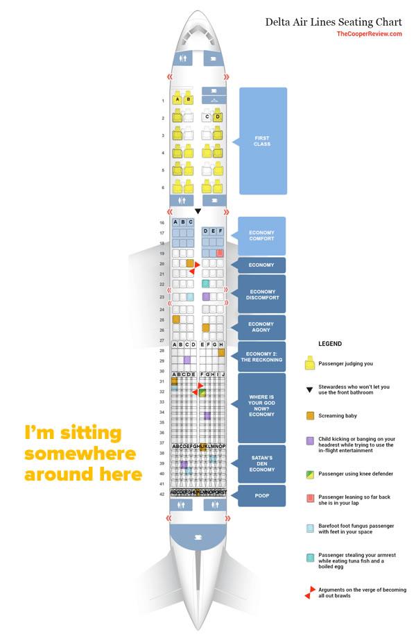 economy class seating chart