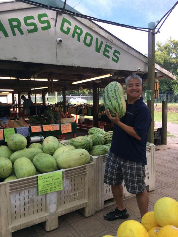 joey and watermelon