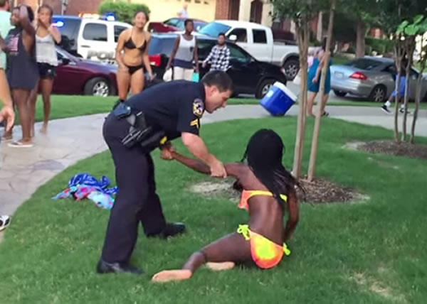 texas pool party