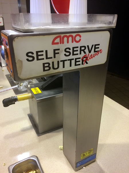 amc self serve butter flavor