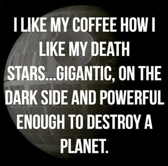 death star coffee