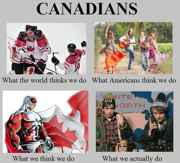 what canadians do