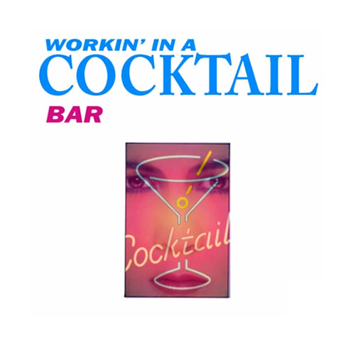 workin in a cocktail bar