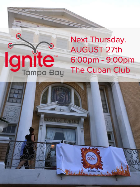 ignite tampa bay 2015