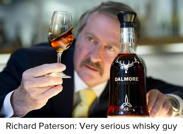 ricard paterson - very serious whisky guy