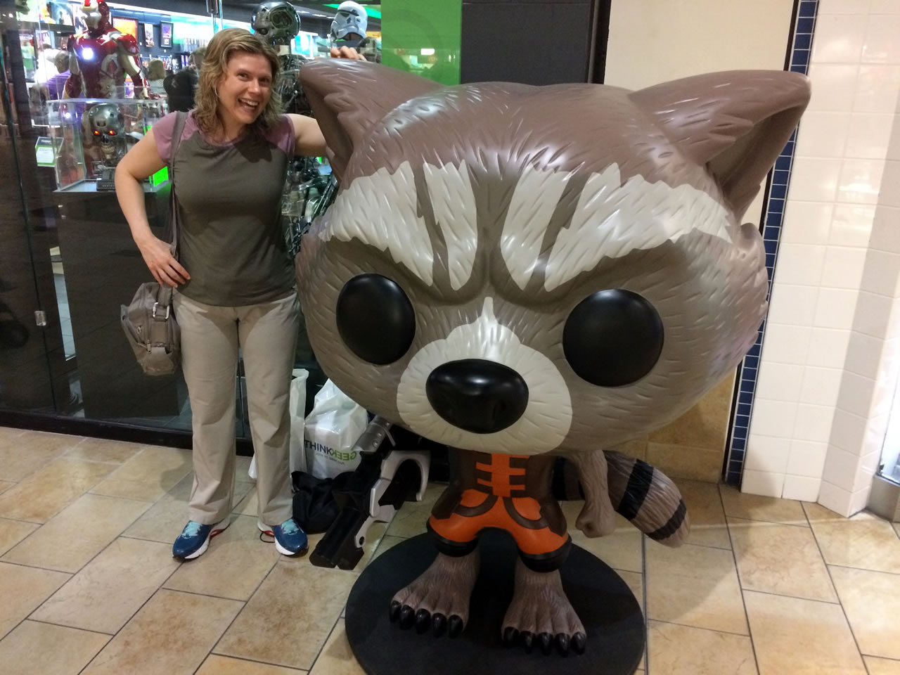 03 thinkgeek store exterior - anitra and rocket