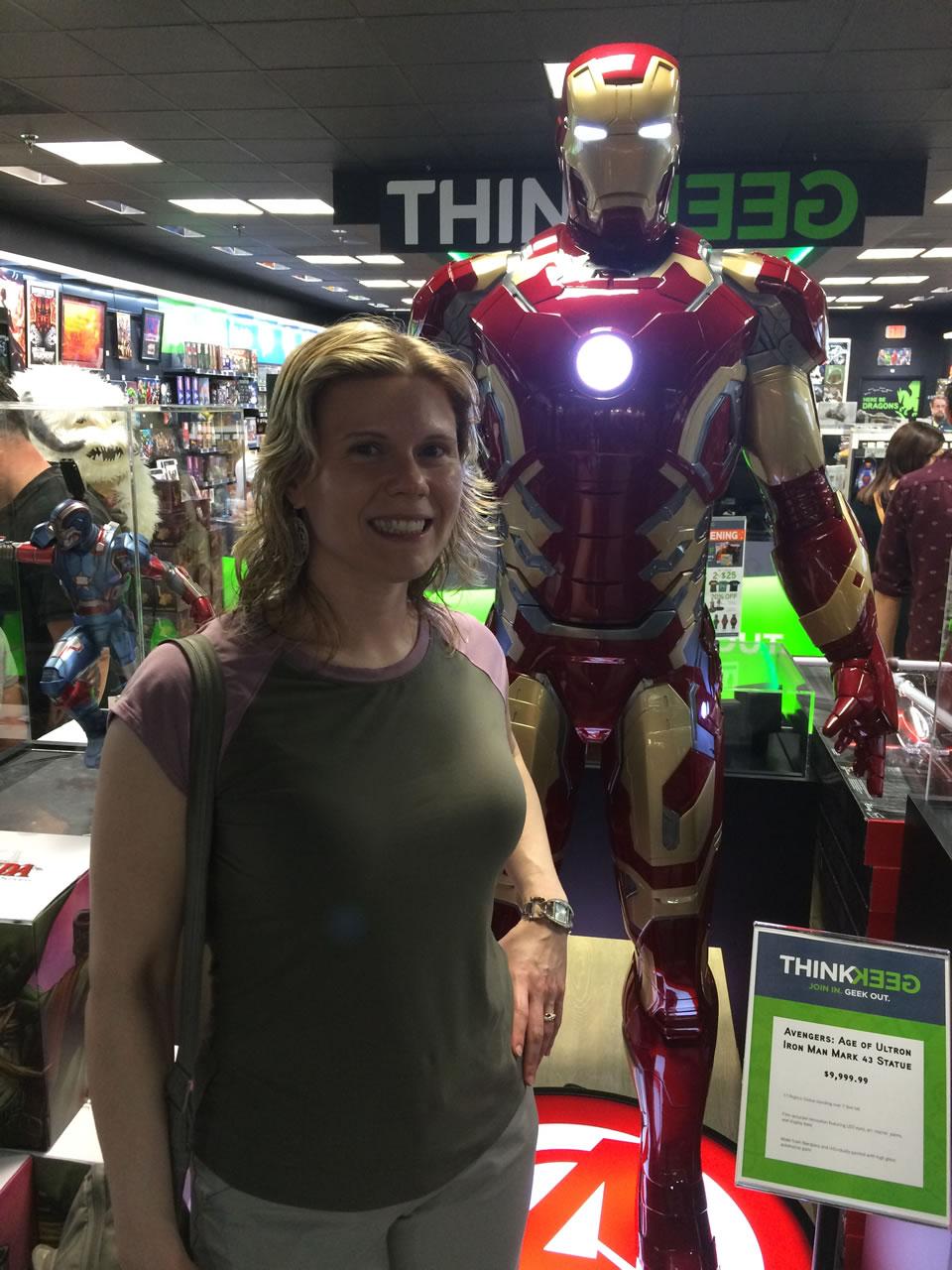 08 thinkgeek store - anitra and iron man