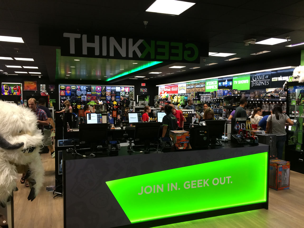 10 thinkgeek store - from front