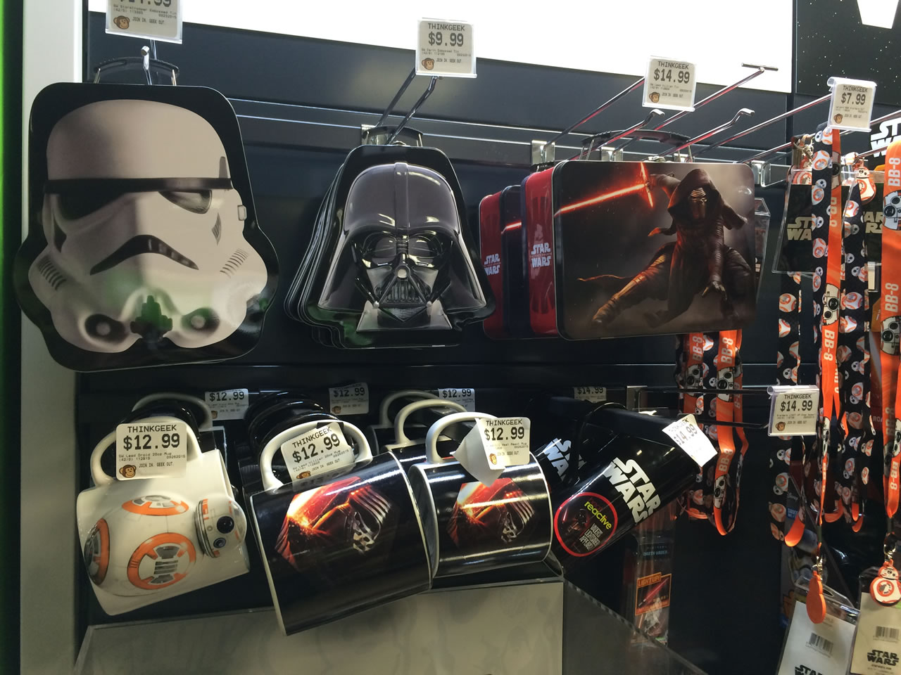 16 thinkgeek store - star wars lunchboxes and mugs