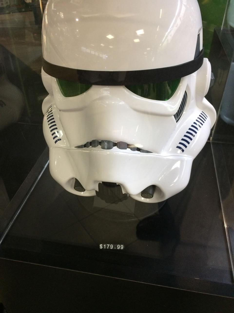 20 thinkgeek store - stormtrooper helmet