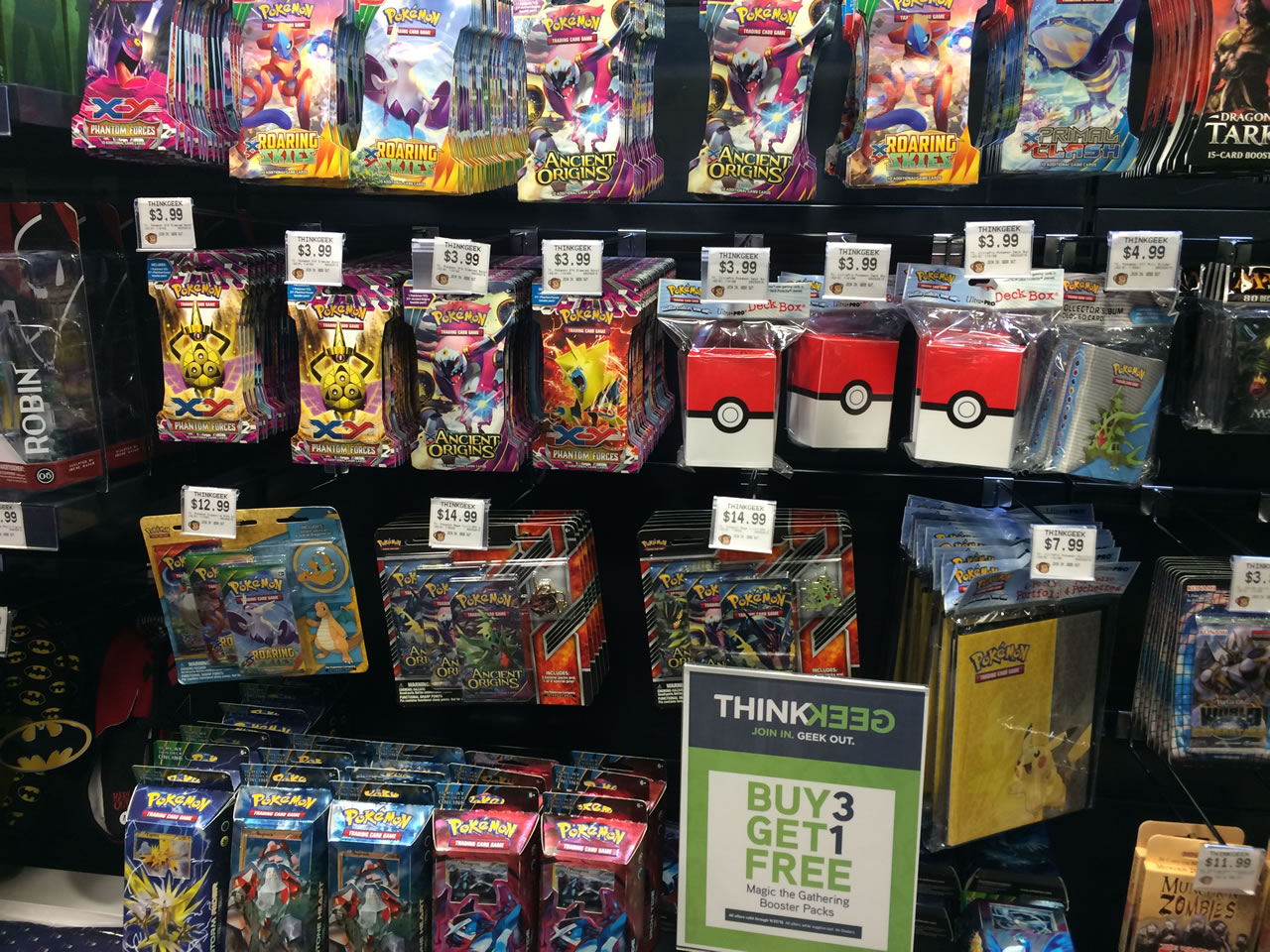 50 thinkgeek store - pokemon cards