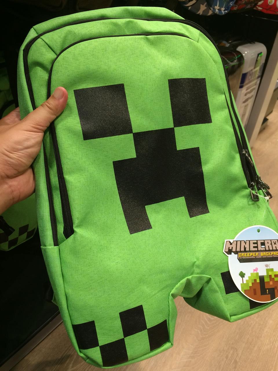 57 thinkgeek store - creeper bag