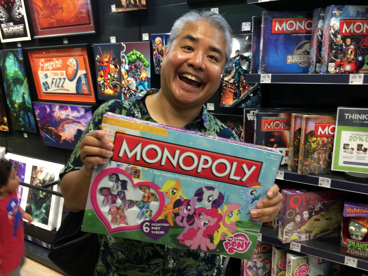 60 thinkgeek store - brony monopoly