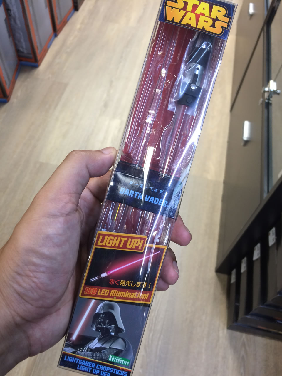 61 thinkgeek store - star wars chopsticks