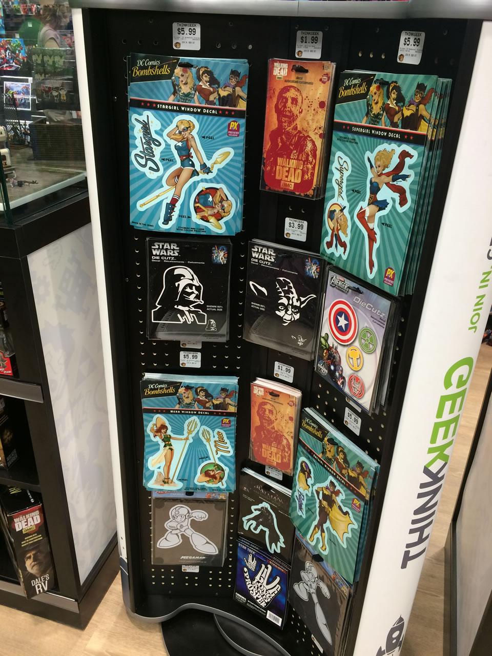 75 thinkgeek store - stickers
