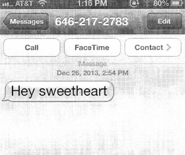 hey sweetheart