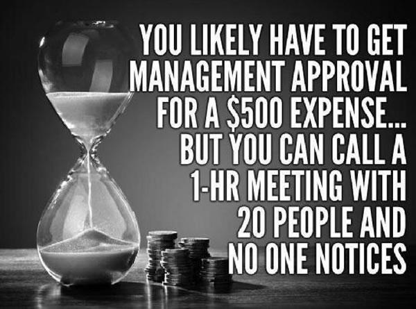 expenses vs meetings