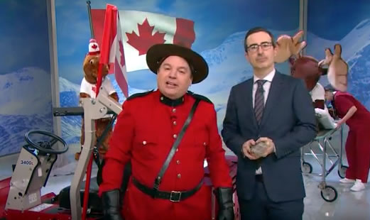 mike myers and john oliver